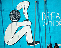 Dream with Oreo . by Geoff McFetridge