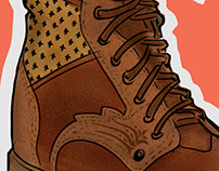 Shoes and Boots Sketches 2013