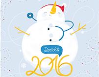 Carte de voeux 2016 - Doctolib
