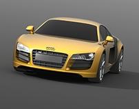 Audi R8 SolidWorks model