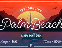 Palm Beach Font Duo