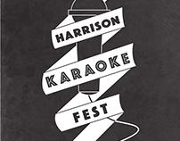 Harrison Karaoke Fest Poster
