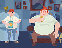 Hampshire's Supporting Troubled Families Animation