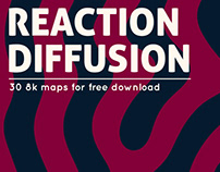 8k Reaction Diffusion Maps - Free Download