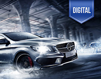 M-Benz CLA Launch Website