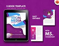 Social media secret ebook template