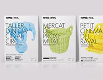 Teatre del Raval posters 2015