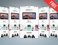 FREE PSD WЕB AND MOBILE PRESENTATION MOCKUP IN PSD
