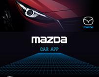 Mazda Car Assistant concept app