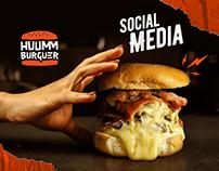 Huumm Burguer   Social Media