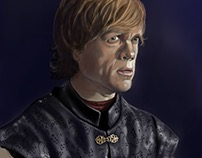 Tyrion Lannister Digital Painting