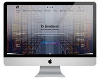 IS Investment Main page design