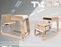 Mobiliario Escolar - Diseño Industrial III Blanco 2017