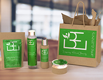 Bare Elements Natural Beauty Range & Logo Design