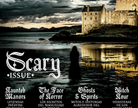 Toska Blackletter Revista:Aire   Scary Issue