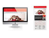 CDG Website Design