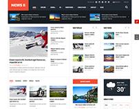 SJ News II - Free Responsive Magazine Joomla Template
