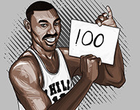 Wilt Chamberlian 100 points