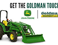Goldman Equipment Advertising