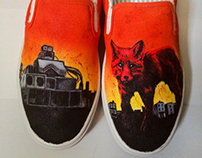 Hand painted Prodigy shoes
