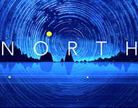 NORTH –Realtime Music Visualization