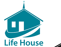 Life House Logo Design 2017