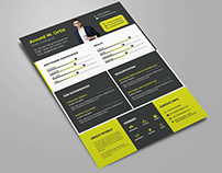 Free Designer CV Template