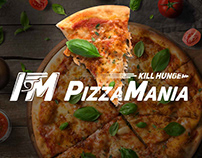 Brand identity «Pizzamania»