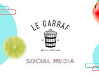 LE GARRAF Social Media