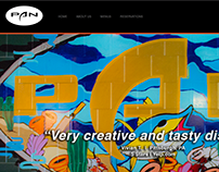 PAN Website Design