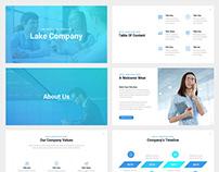 Lake Company Keynote Template