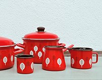 Decor for Enamelware Range