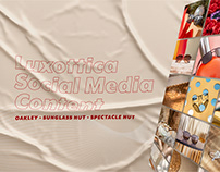 Luxottica: Social Media (Oakley,Sunglass Hut,Spec Hut)