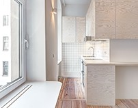 Micro-apartment in Berlin-Moabit by Spamroom + Johnpaul