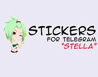 """Stickers for Telegram """"Stella"""""""