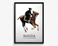 Wanda – Gigposter