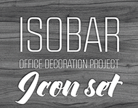 isobar budapest / office decoration project / icon set