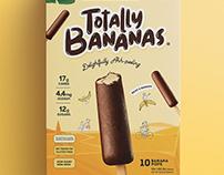 TOTALLY BANANAS - BRANDING AND PACKAGING DESIGN