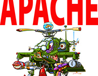 The Apache Attack Helicopter