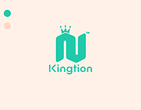 Kingtion Location Modern Logo