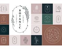 50 Botanical Floral Logos