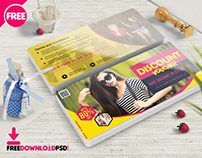 Discount Coupon PSD Template