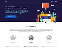 Designer Onboarding UI design