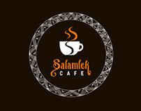 SALAMLEK CAFE - LOGO & BRANDING DESIGN