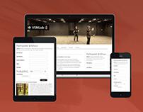 Web Design for Brown Univ. VR Lab