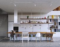 Cage kitchen