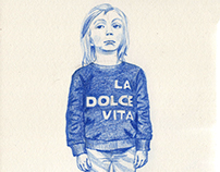 Fashion Illustration - Childrenswear