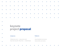 Proposal Apple Keynote Presentation