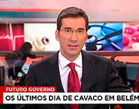 SIC + SIC Notícias — on-air news redesign