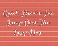 Free Estafet Letter Script Font